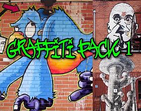 3D Graffiti Textures Pack