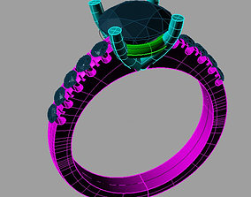 Classic Solitaire Engagement ring Anello solitario Sl71 1