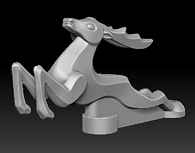 3D printable model Hood ornament Gas 21 Deer