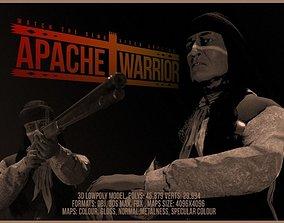 3D asset Apache Warrior