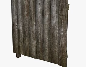 3D model Wooden Fence other