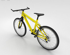 Bicycle Yellow 3D model