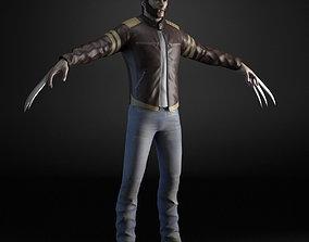 X-MEN Wolverine 3D model