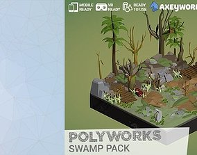 PolyWorks Swamp Pack 3D model
