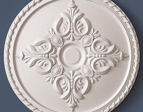 3D carved Ceiling Medallion