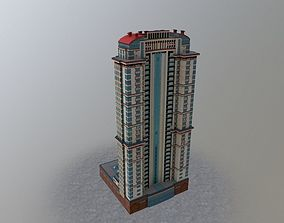 Moscow House Building37 3D model