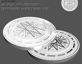 3D printable model 4th Seal of Mercury