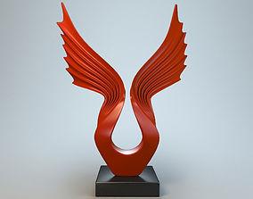 Sculpture Wings 3D