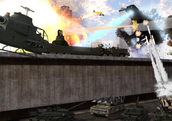 Fight Godzilla!