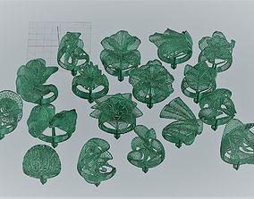 ring gold 3D printable model diamond