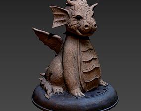 3D Godzilla sculpture godzilla