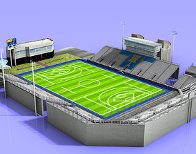 3D model James M Shuart Stadium