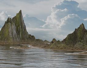3D model Realistic landscape