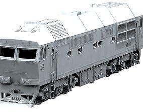 Diesel locomotive model TEP70