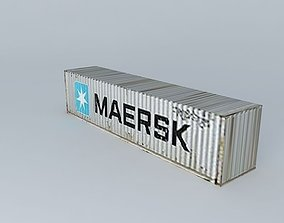 3D model Maersk Container 40
