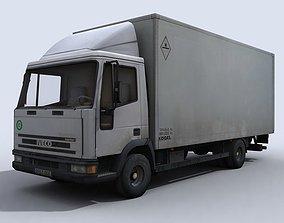 3D model Small Transport Truck