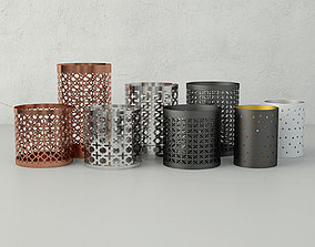 Tealight holders by HM Home 3D model