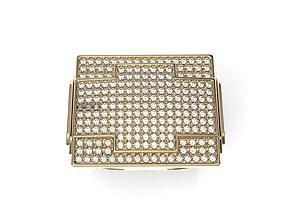 jewelry Big Fancy Mans Ring 3D print model
