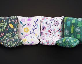 3D asset Pillow set