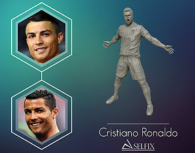 Christiano Ronaldo celebration juventus kit 3D print model