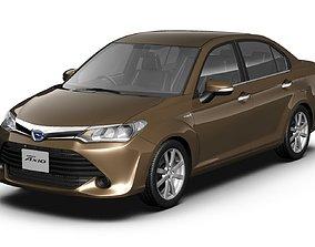 3D 2016 Toyota Corolla Axio