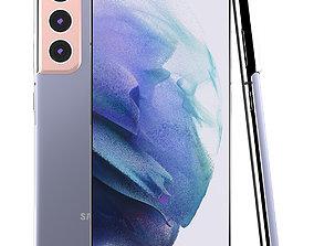 3D model Samsung Galaxy S21 Phantom Violet