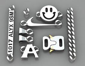 3D print model necklace-bracelet 1017 Alyx 9sm