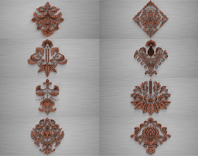 3D Ornament sq PACK by WP