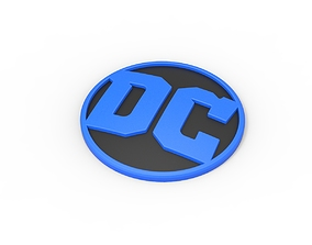 3D printable DC emblem