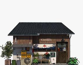Tokyo restaurant 3D asset