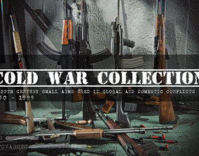 3D Cold War Weapons Collection