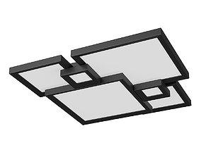 74907x Breve Lightstar Ceiling chandelier 3D model