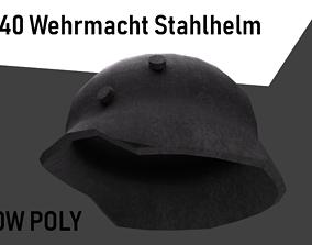 3D asset M1940 Wehrmacht Stahlhelm