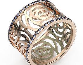 Ring Flower Pattern 3D print model
