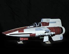 3D print model Star Wars A-Wing fighter