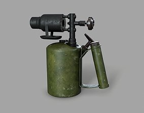 3D model realtime PBR Blowtorch