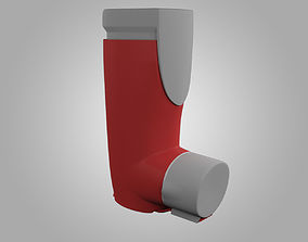 3D model Vannair Asthma Inhaler