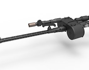 3D Stormtrooper Blaster RT-97C from the movie Star Wars