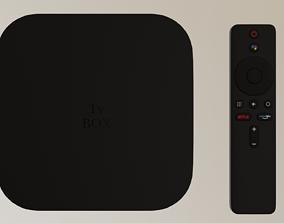 3D asset Tv Box