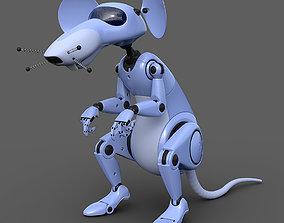 Robot rat 3D model