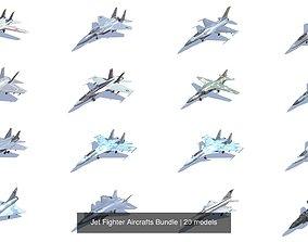 3D Jet Fighter Aircrafts Bundle