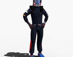 Daniil Kvyat 2017 3D model