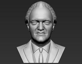 Quentin Tarantino bust 3D printing ready stl obj