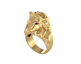 3D print model LION RINGS