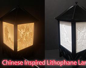 3D print model Chinese Inspired Lithophane Lantern