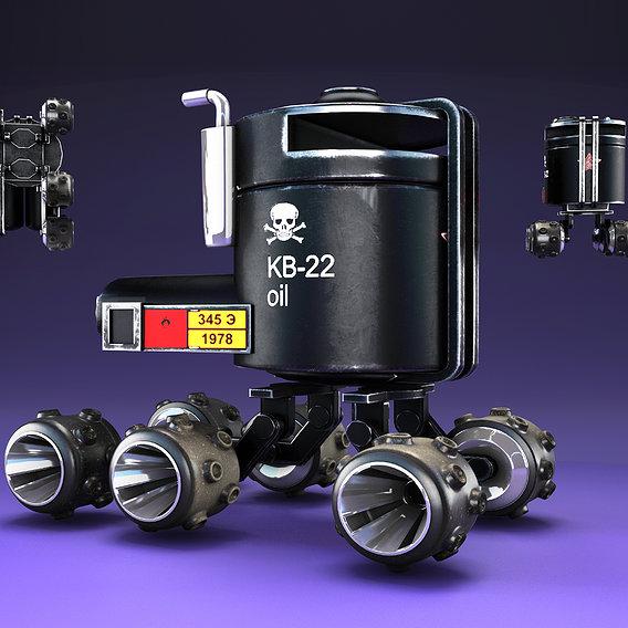 Concept Oil Tank