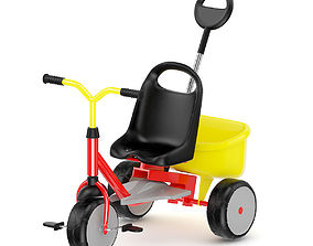 3D Kids Tricycle