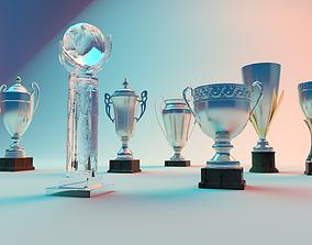 3D model Trophy Winners Cup Pack trophy