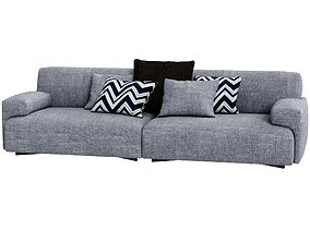 3D Poliform Soho Sofa 2 Seat