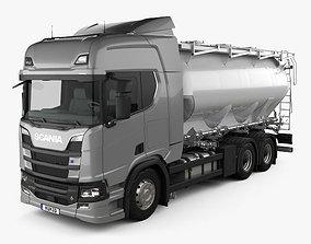 Scania R 730 Tanker Truck 2017 3D